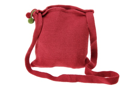 Sling Bag on White Background photo