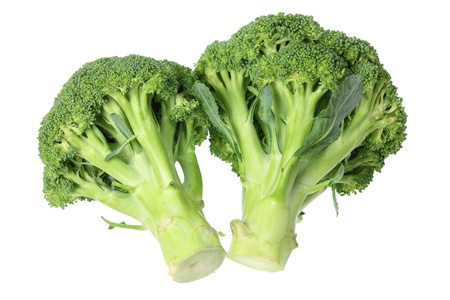 Broccoli on White Background Stock Photo - 13778280
