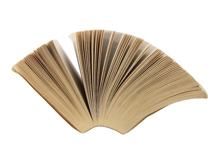 paperback: Paperback su sfondo bianco