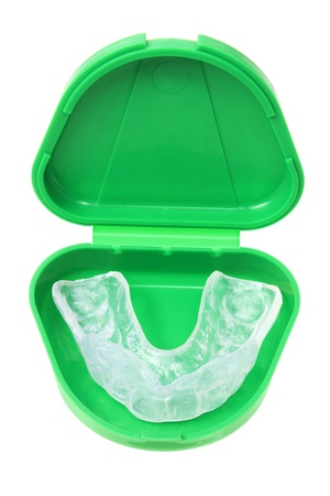 Mouth Guard on White Background