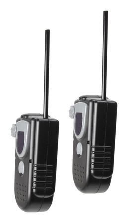 walkie talkie: Toy  Walkie Talkie on White Background