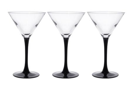 Wine Glasses on White Background Stock Photo - 14433989