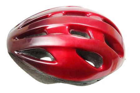 bicycle helmet: Bicycle Helmet on White Background