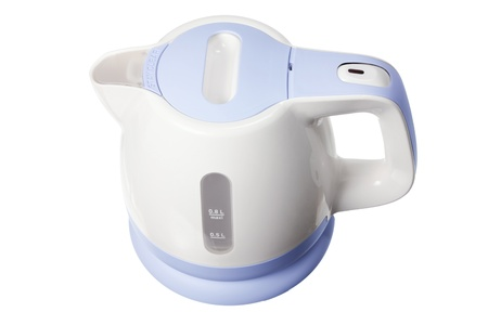 Electric Kettle on White Background Stock Photo - 14716934