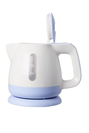 Electric Kettle on White Background Stock Photo - 14716922