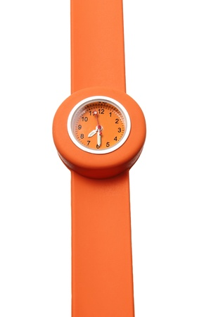 Toy Watch on White Background photo