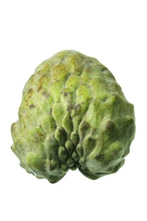 custard apple: Custard Apple on White Background