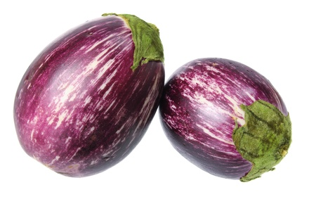Eggplant on White Background Stock Photo - 14886940