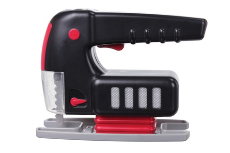 Toy Jig Saw on white Background Stock Photo - 15494450