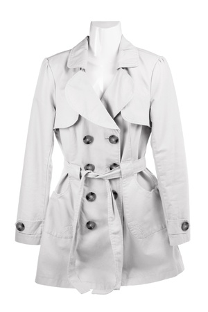 Mannequin with Jacket on White Background Stock Photo - 15494531