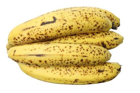 banana skin: Bunch of Banana on White Background