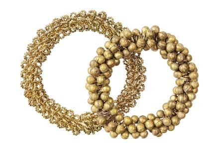Bracelets on White Background Stock Photo - 16485355