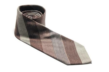 tie necktie: Necktie on White Background