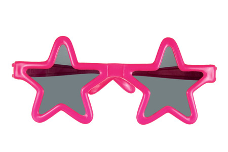 sunnies: Party Sunglasses on White Background