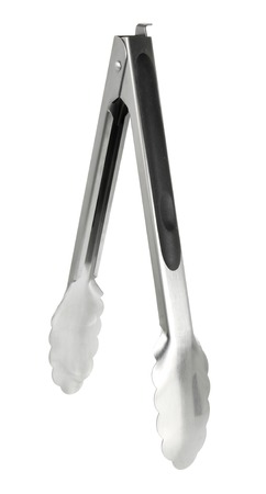 Kitchen Tongs on White