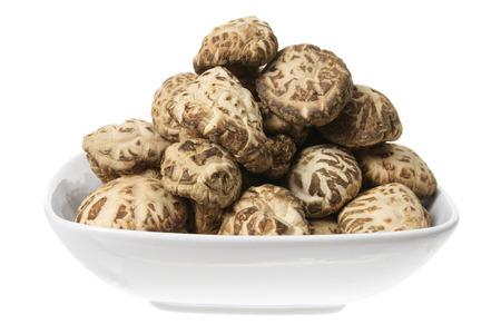 shitake: Shitake Mushrooms on Plate