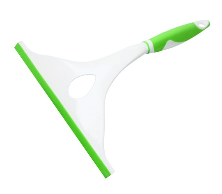 squeegee: Squeegee on White Background