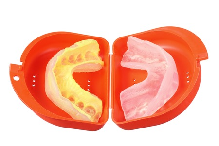 cut out device: Mouth Guard on White Background