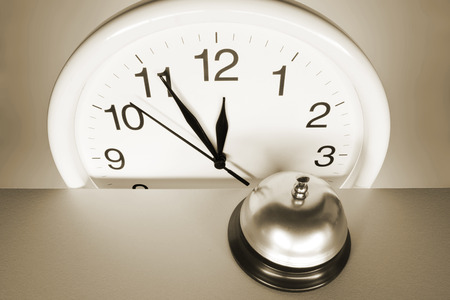 call bell: Wall Clock and Call Bell