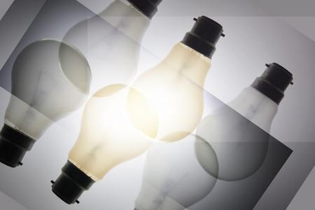 light bulbs: Compuesto de Bombillas Foto de archivo