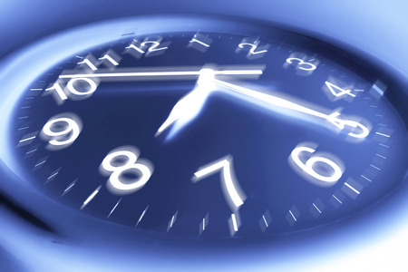 timely: Close Up of Clock