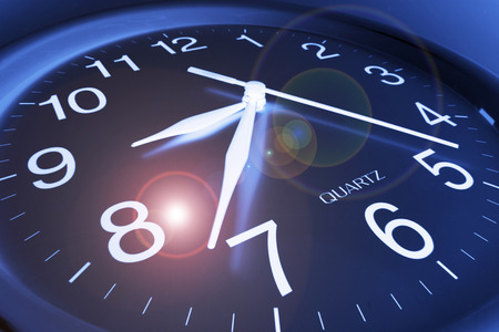punctuality: Close Up of Clock