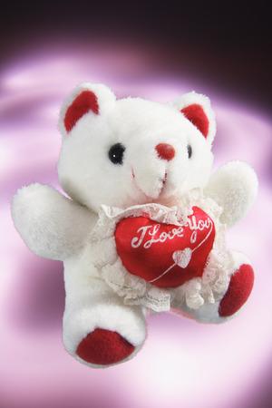 loveheart: Teddy Bear with Love Heart