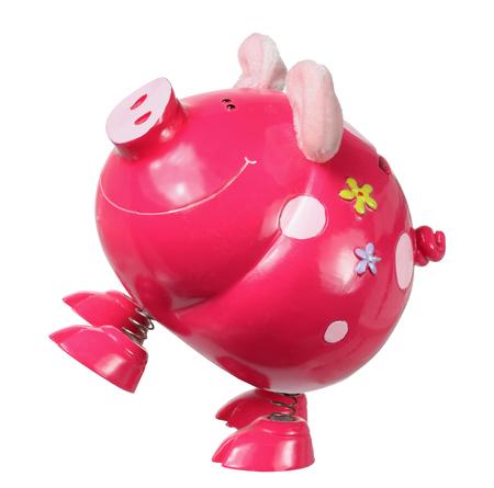 piggybank: Piggybank on White Background Stock Photo