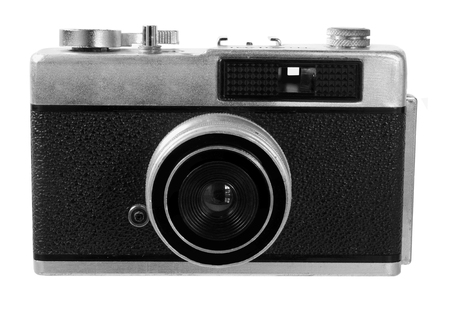 rangefinder: Range Finder Camera on White Background