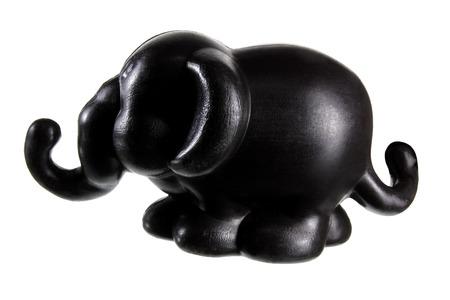 toy elephant: Toy Elephant on White Background