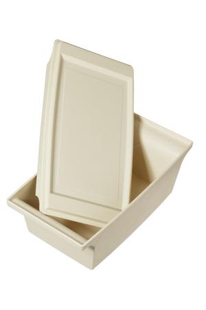 homeware: Lunch Box on White Background