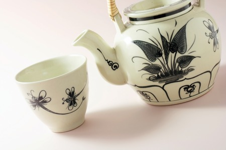 Chinese Teapot and Teacup