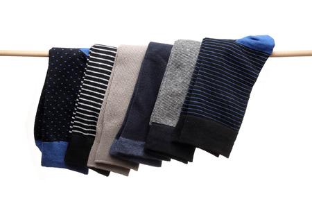 Socks hanging from Stik