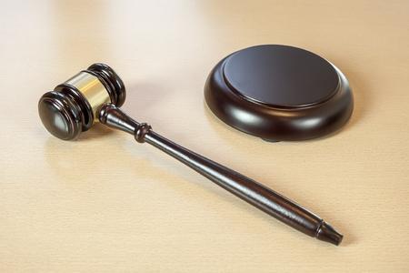 international criminal court: ] Wooden judges gavel on table,legal concept