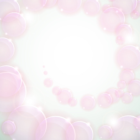 Soft colored pink abstract background