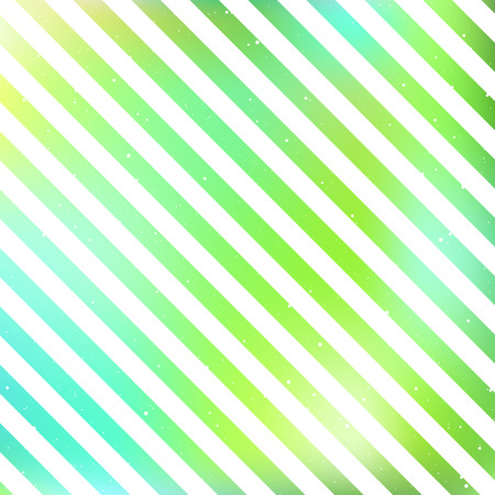 Striped pattern on a blur green background. Vector illustration.