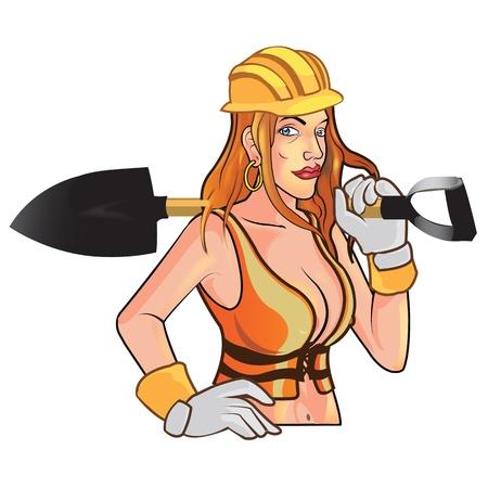 sexy construction worker: Sexy Construction Worker