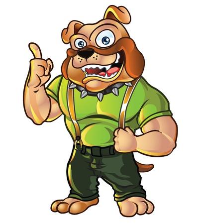 Freundlich Bulldog Mascot