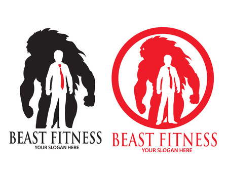Beast Fitness Illustration