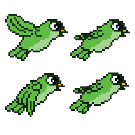Pixel Flying Bird
