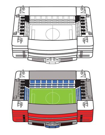 venue: Stadio di calcio Vettoriali
