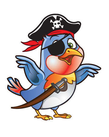 robin bird: Robin Bird Pirate