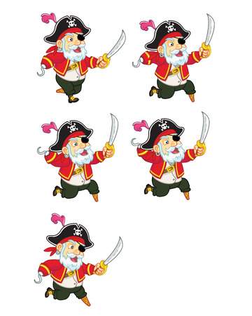 sprite: Old Pirate Jumping Sprite