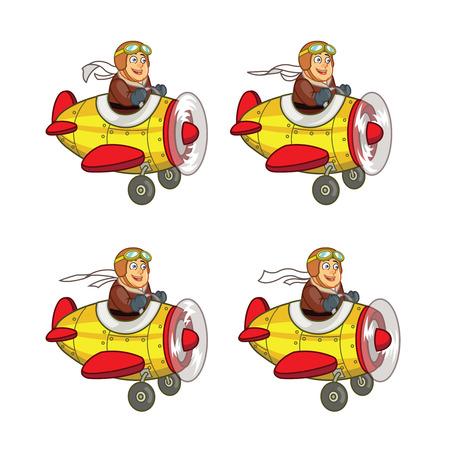 sprite: Chubby Boy Pilot Sprite