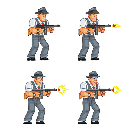 sprite: Mobster Shooting Sprite