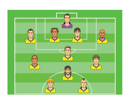 Football Strategy Board Çizim