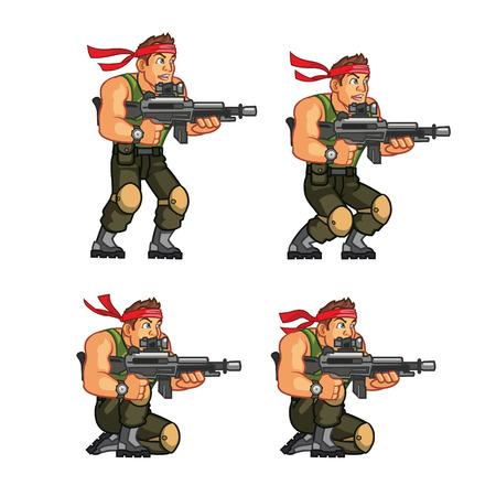 commando: Commando Game Sprite