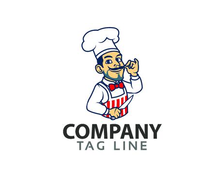 Chef Cartoon Logo