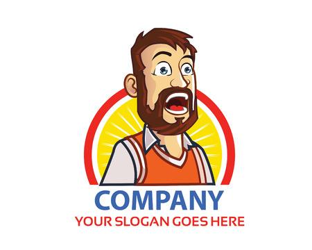 Shouting Man Logo