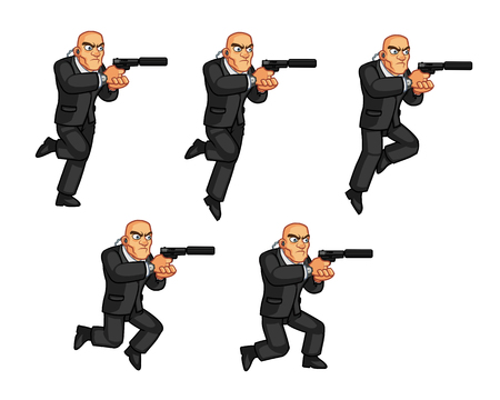 body guard: Body Guard Jumping Animation